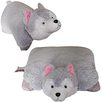 large husky pet pillow 18