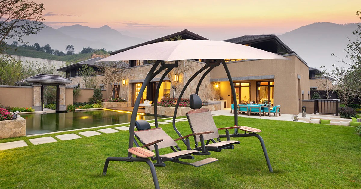 Ultimate Comfort Swings  Sunset Swings  Patio Furniture