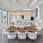 Rectangular Crystal Raindrop Chandelier Dining Room Sofary Lighting