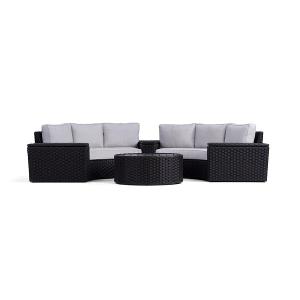 https yardbird com products 6 piece elliot round sectional set