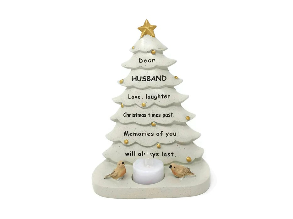 Memorial Christmas Tree Candle Tribute Choice Of Relative Artificial Floral Supplies