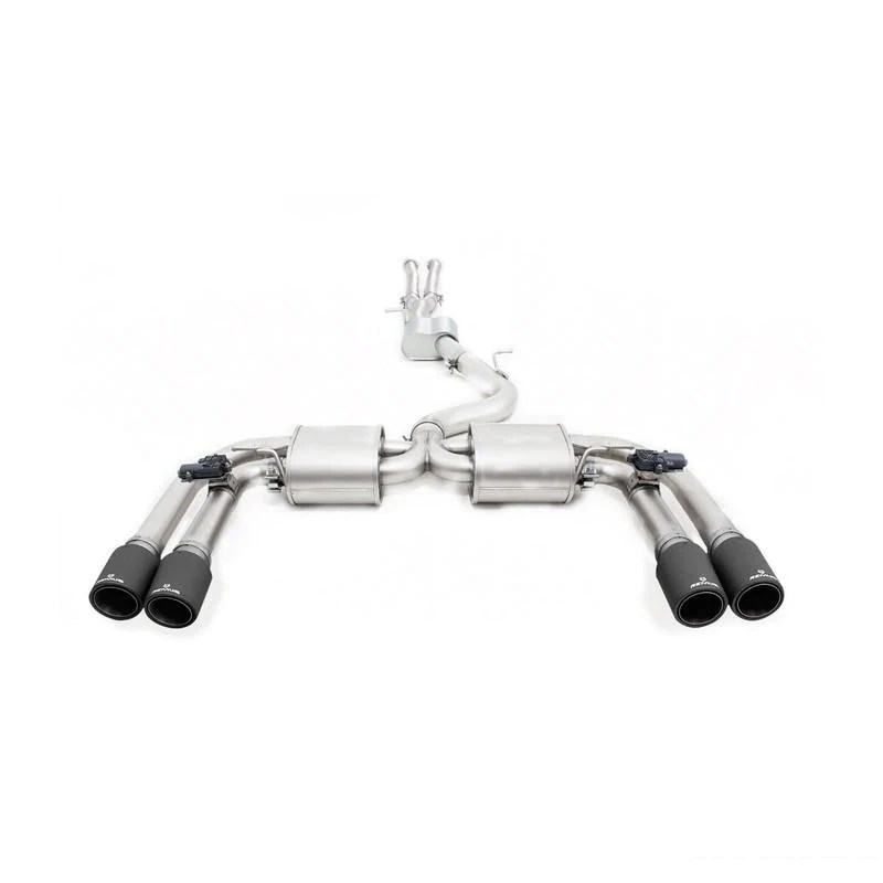 remus cat back exhaust system for honda