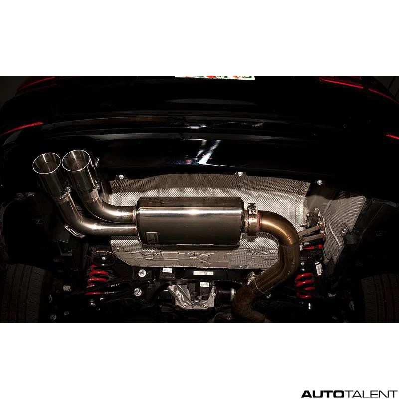 active autowerke rear exhaust system for bmw f3x 328i 2012 2016