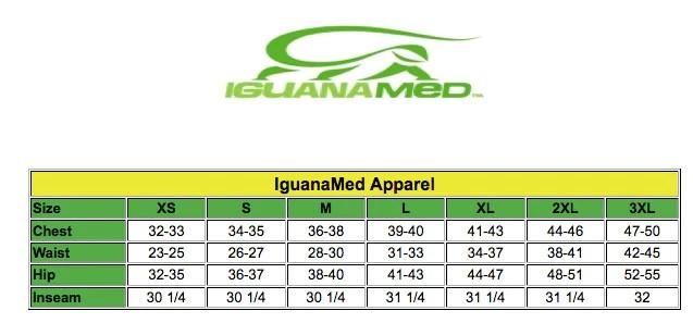 Iguanamed scrubs size chart also charts lydiasuniforms rh