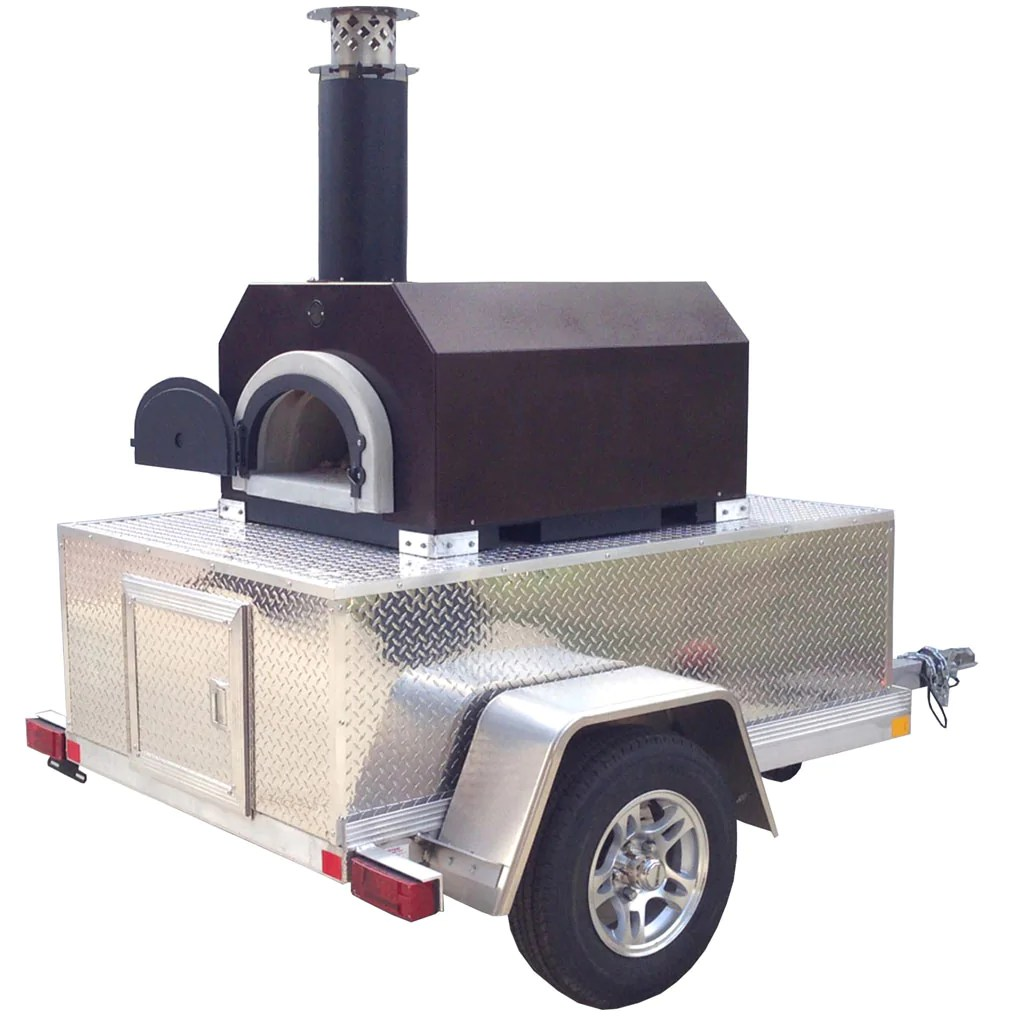 cbo 750 tailgater wood fired pizza oven take yours down the road