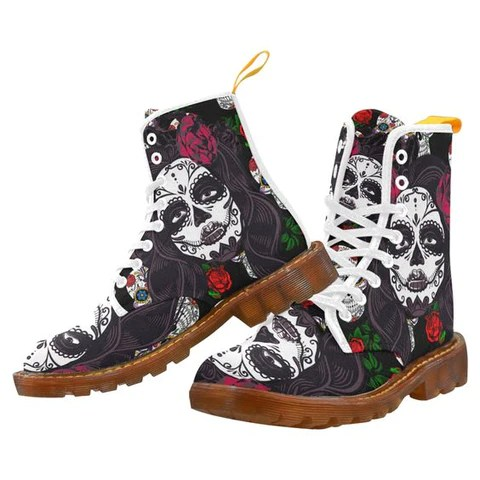 Hiking Skull Boots