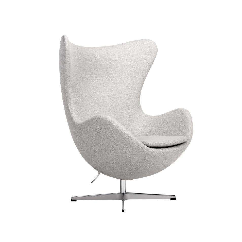 mid century egg chair chicco high green modern reproduction in grey light