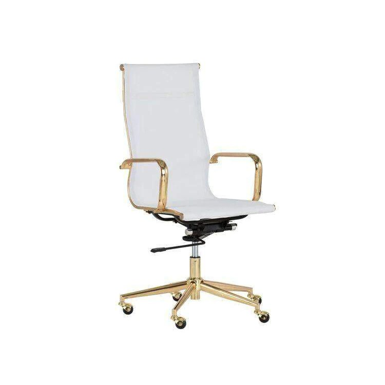 office chair gold shelby williams alexis white france son