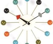 midcentury modern clock