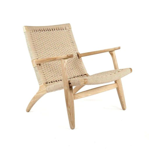 modern lounge chairs for living room cream chair covers weddings mid century the france son ch25 staff pick