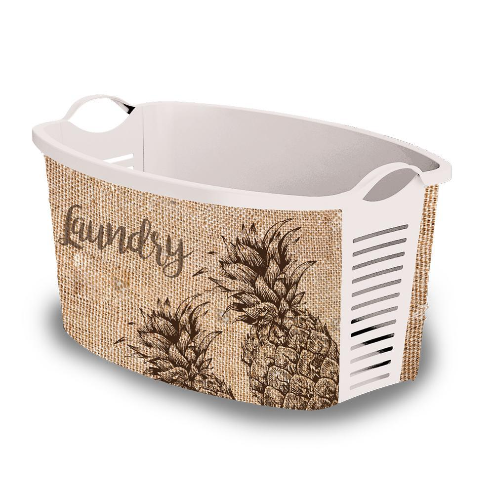 Plastic Laundry Basket Pineapple Vintage Laundry Basket Uk