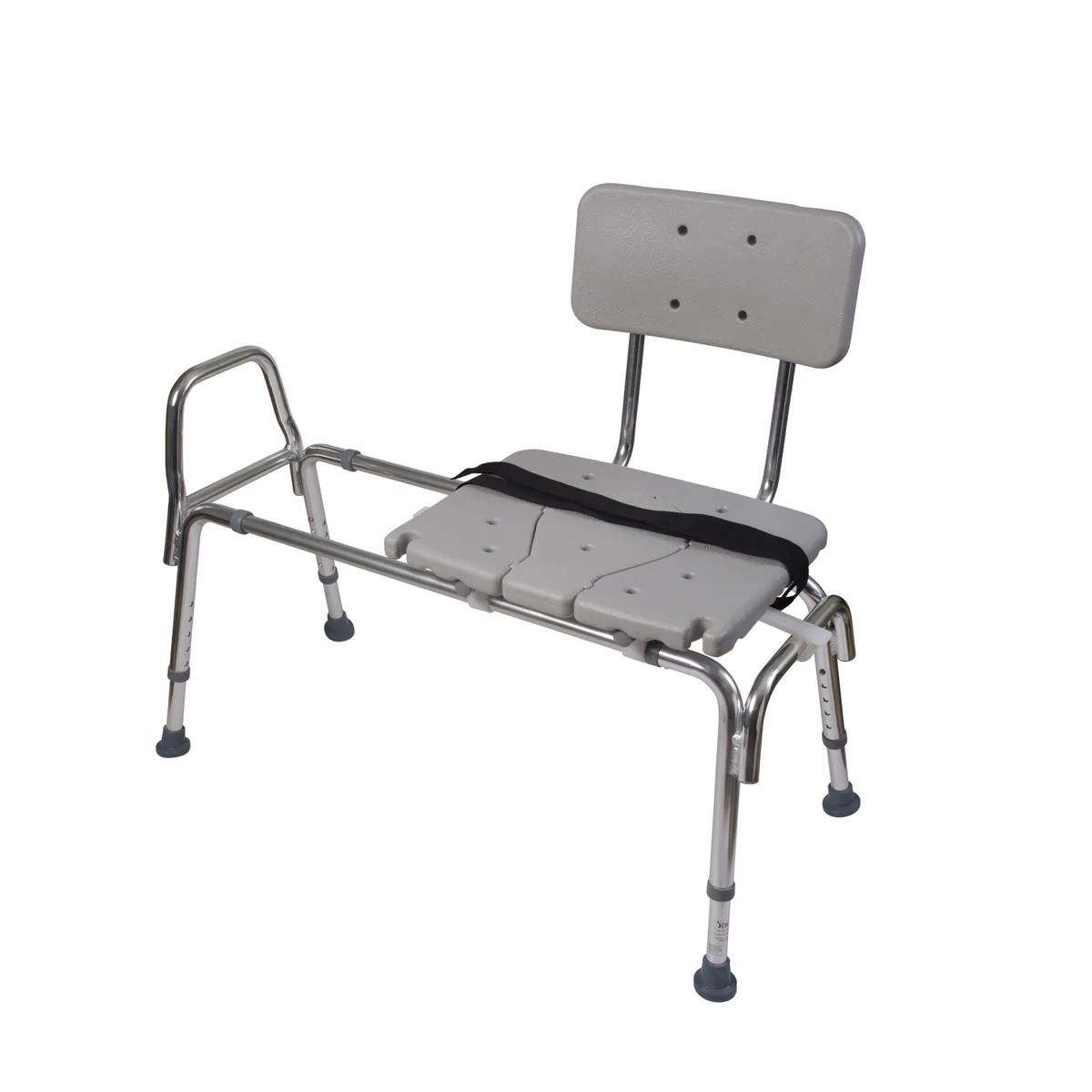 transfer shower chair upholstered stacking chairs sliding bench at meridian medical supply