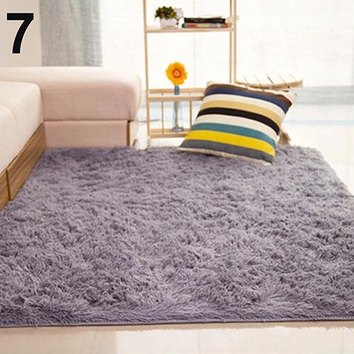 living room floor mats area rug in or not bedroom home anti skid soft shaggy fluffy carpet mat