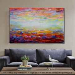 Artwork For Living Room Walls Wall Color Ideas With Black Furniture Canvas Art In 19 15 Hus Noorderpad De Painting Abstract Landscape Rh Artworkcanvas Com Large