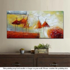 Contemporary Artwork Living Room Black And Red Modern Art Wall Abstract Ballet Dancer Painting Artworkcanvas