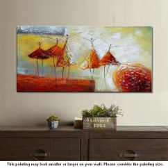 Artwork For Living Room Walls French Country Decor Modern Art Wall Abstract Ballet Dancer Painting
