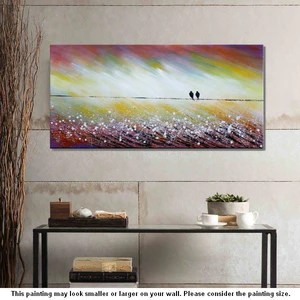 artwork for living room walls industrial furniture wall art abstract love birds painting acrylic paint artworkcanvas