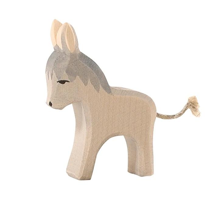 Donkey Small Family Farm Ostheimer Wooden Toys Australia