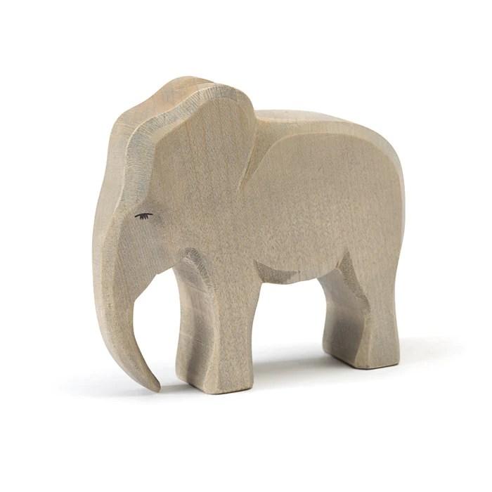 Elephant Male Wild Animals Ostheimer Wooden Toys Australia