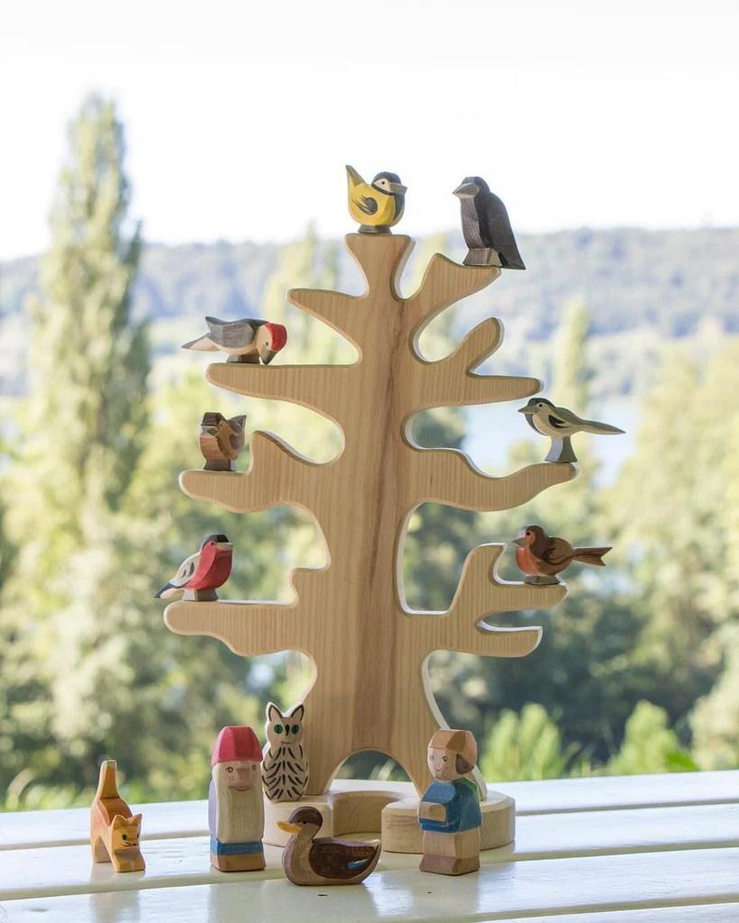 Ostheimer Bird Tree Ostheimer Wooden Toys Australia