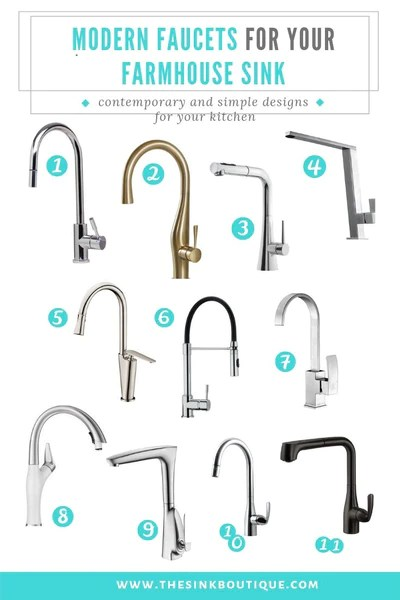 farmhouse kitchen faucets for farmhouse