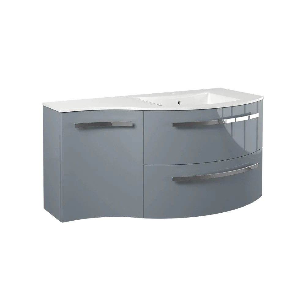 latoscana 43 modern bathroom vanity left side cabinet ambra series am43opt2
