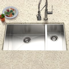 30 Kitchen Sink Ceramic Or Porcelain Tile For Floor Houzer 33 Stainless Steel Undermount 70 The Double Bowl Cto
