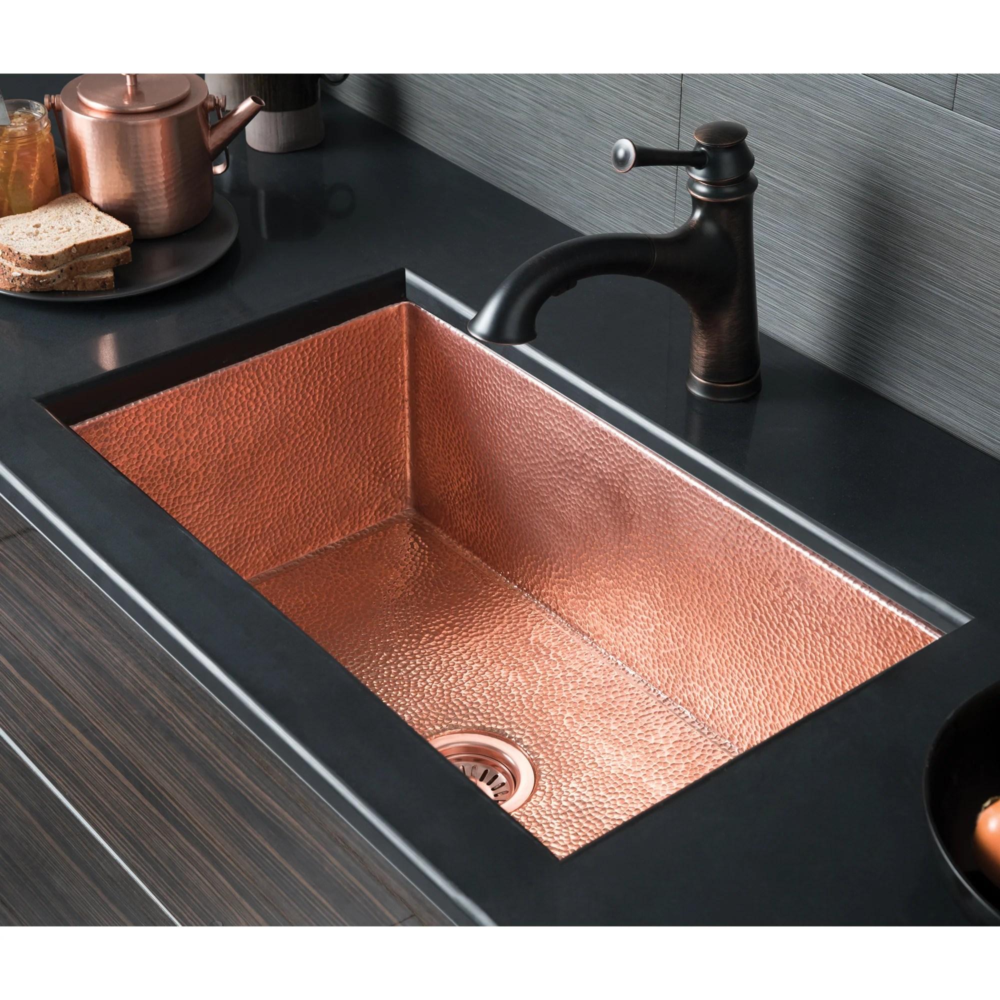 native trails cocina 30 copper kitchen sink polished copper cpk493