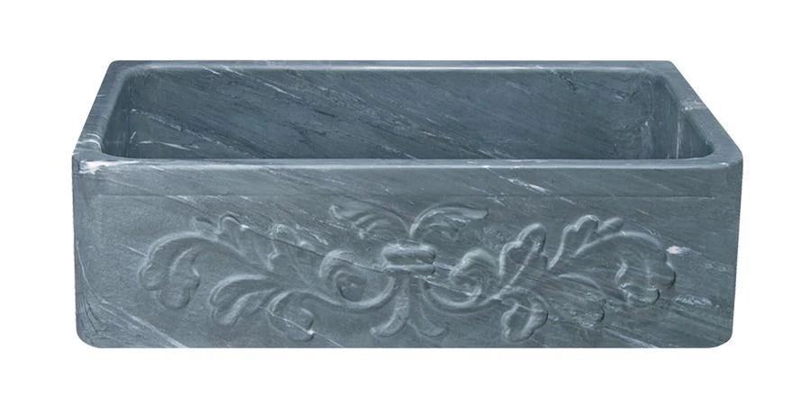 33 soapstone farmhouse sink design apron front charcoal marquina kf332010sb f2 cms