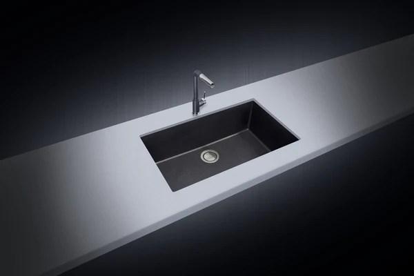 Latoscana Plados 33 Undermount Single Kitchen Sink Black