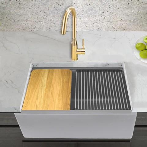 30 farmhouse apron front kitchen sinks