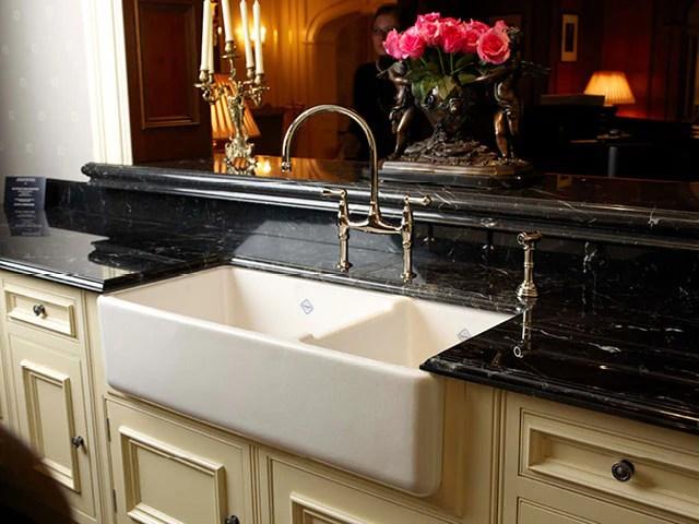 rohl shaws 40 fireclay 70 30 double bowl farmhouse apron kitchen sink white rc4019wh