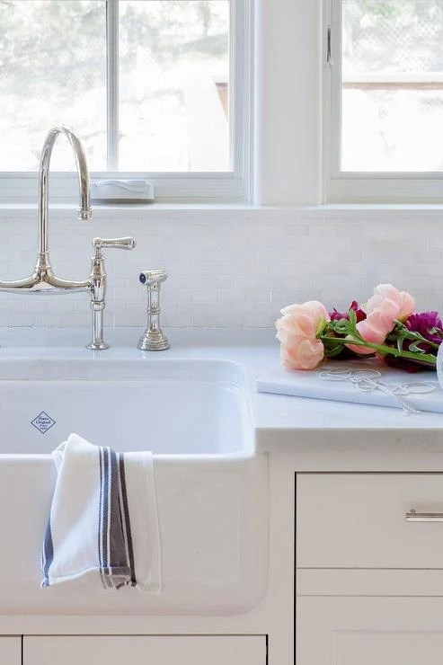 rohl shaws 33 fireclay single bowl farmhouse apron kitchen sink white rc3318wh