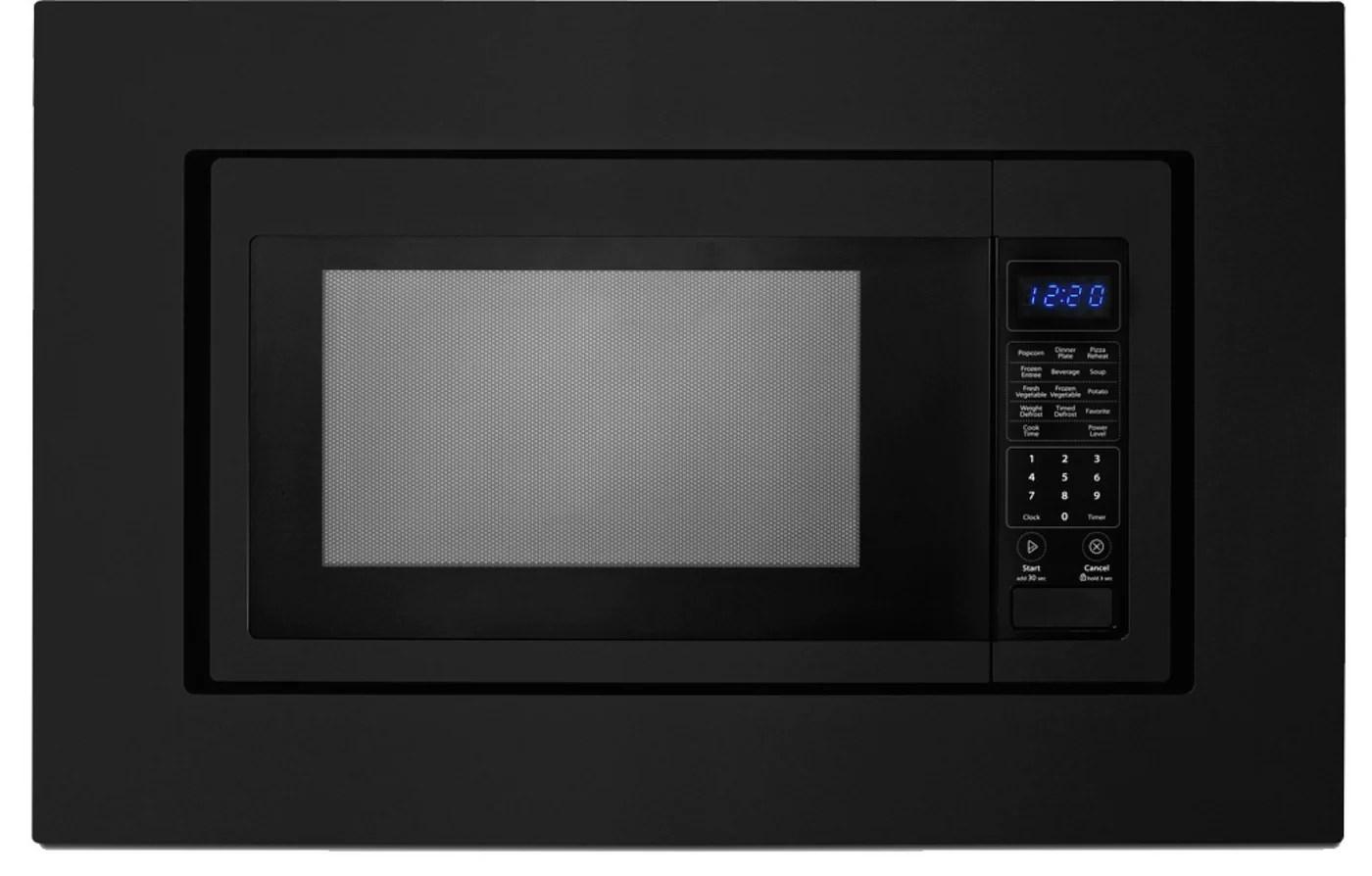 unbranded black countertop microwave trim kit 27 inch mk2167ab