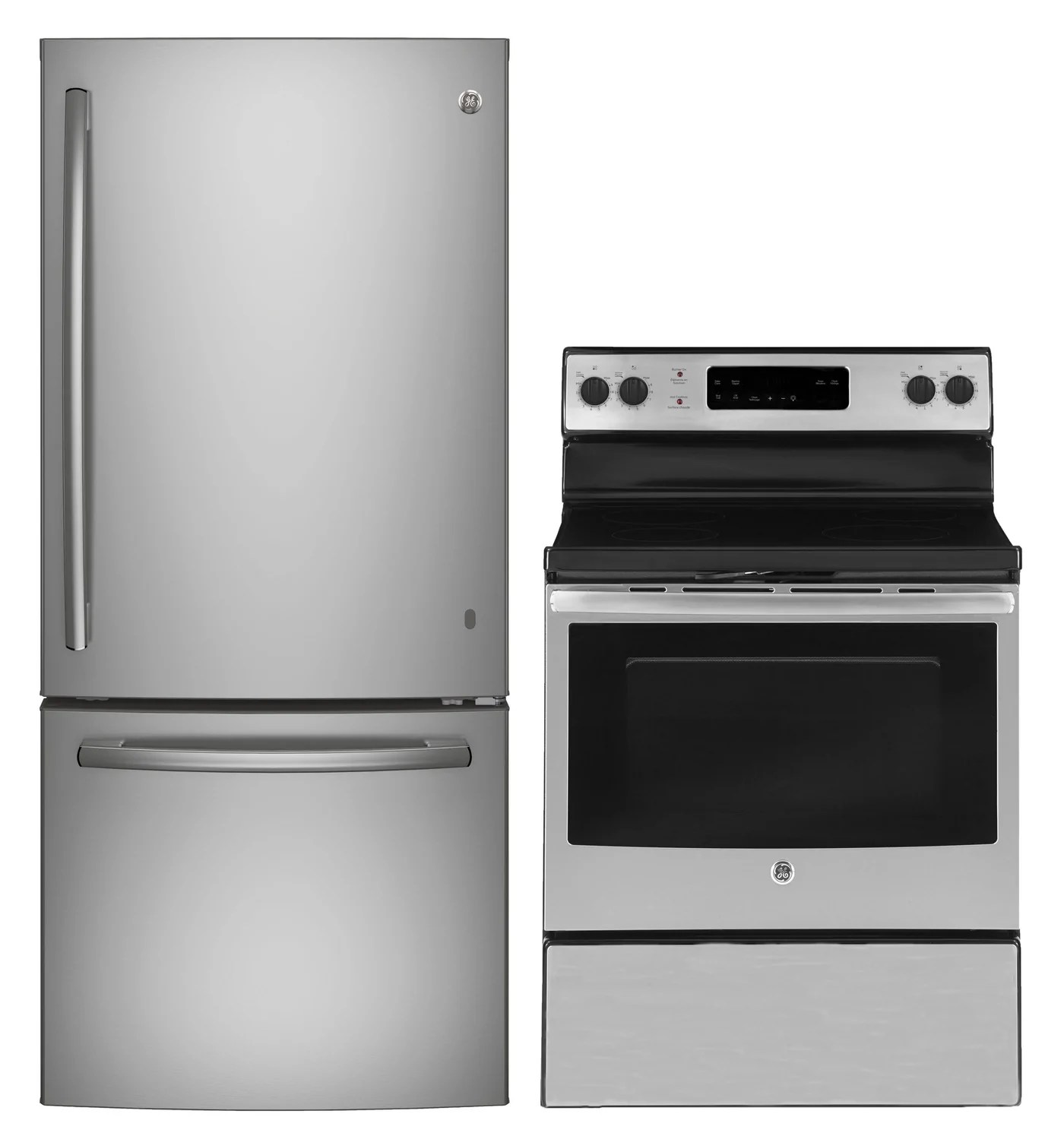 kitchen appliance packages stainless steel design ideas images ge 2 piece package leon s write a review sku 15518002
