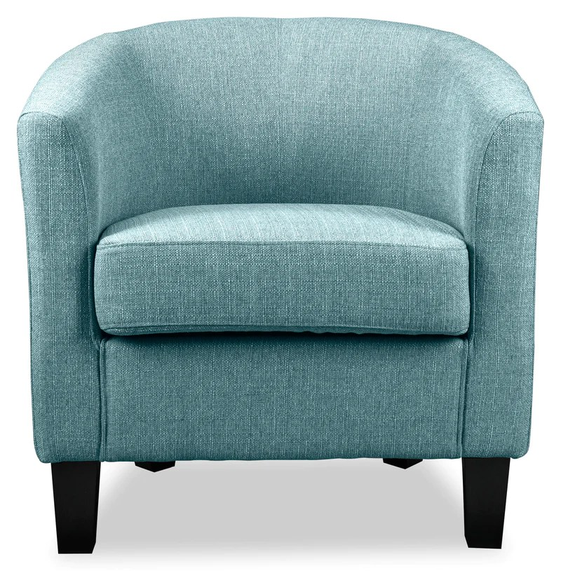 Enzo Accent Chair - Blue Leon'