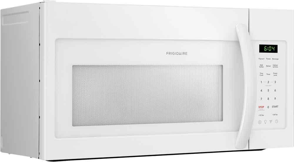 frigidaire white over the range microwave 1 8 cu ft ffmv1846vw