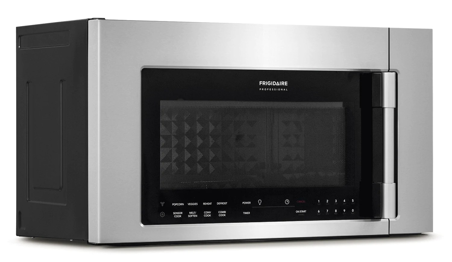 frigidaire professional stainless steel over the range microwave 1 8 cu ft cpbm3077rf