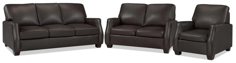 dalton sofa leon s furniture bed india new arrivals talbot loveseat and chair set chocolate