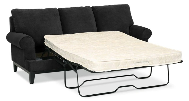 black sofa beds for sale table online canada futons leon s crizia full bed