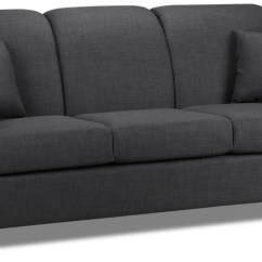 Roll Arm Sofa Canada American Furniture Sofas Made In Leon S Roxanne Charcoal