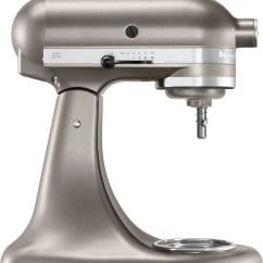Silver Kitchen Aid Tile Designs Kitchenaid Cocoa 5 Quart Tilt Head Stand Mixer Ksm150agbcs Previous Next