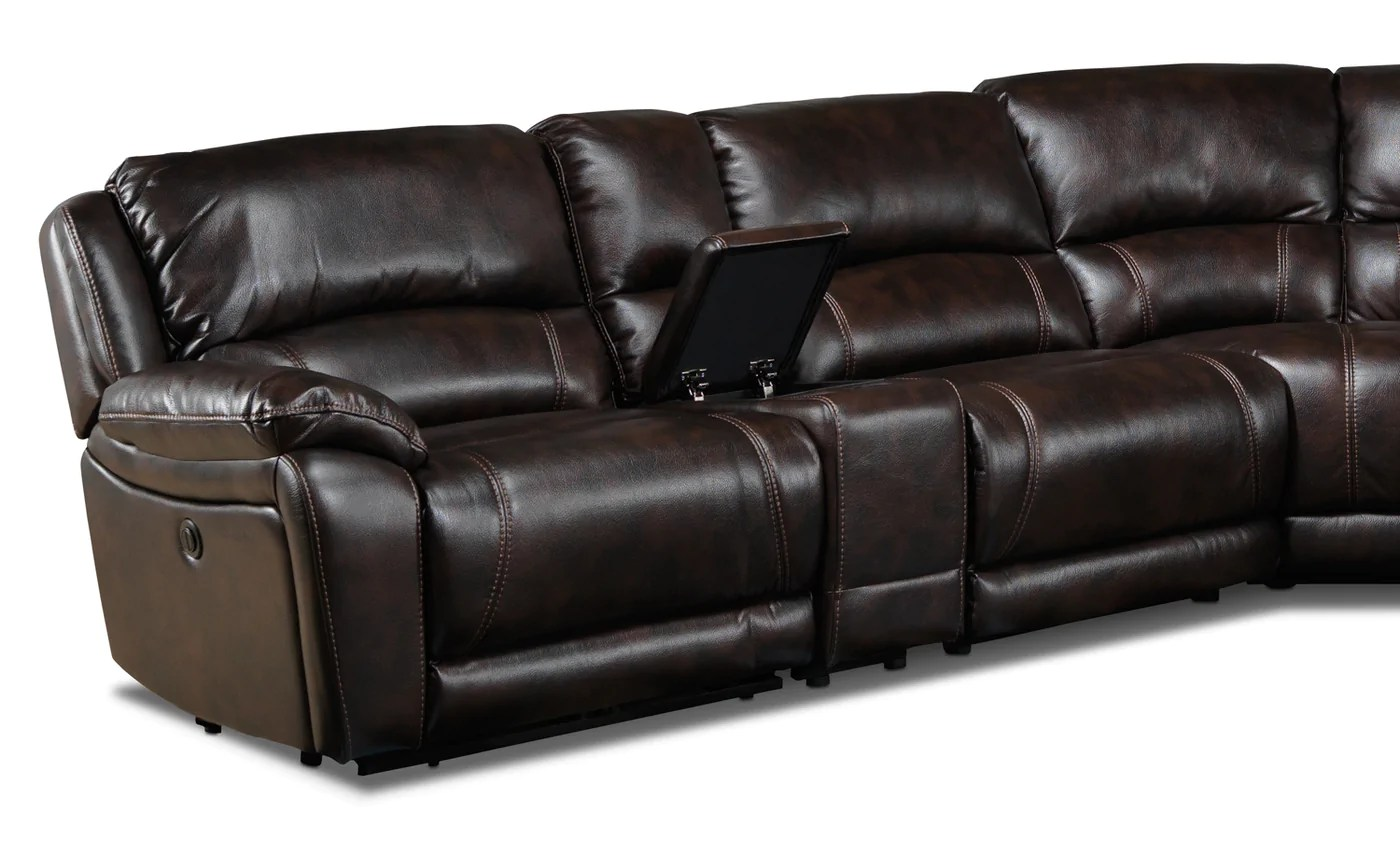 manwah sofa factory rattan daybed set santorini 6 piece power reclining sectional walnut leon s touch to zoom