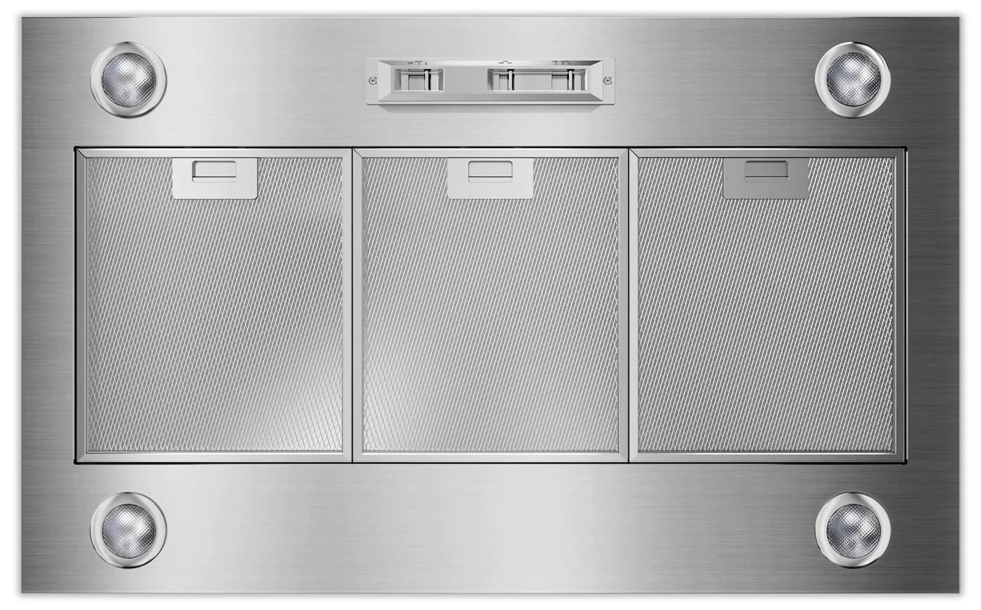 kitchen air cork floors in kitchenaid stainless steel 36 1200 range hood liner uxl6036yss