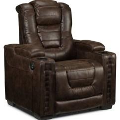 Dakota Sofa Costco Overnight Retailers Recliners Leon S Power Recliner Walnut