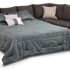 Queen Bed Sofa Spencer Macy S Beds Futons Leon Athina 2 Piece Sectional With Left Facing Nutmeg