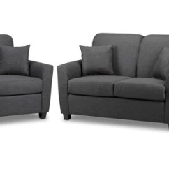 Couch And Chair Set Dining Covers For Sale Living Room Packages Leon S Roxanne Sofa Loveseat Charcoal