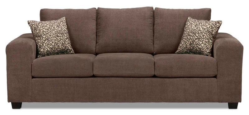 cushion ideas for light brown sofa how to clean my with baking soda sofas leon s fava