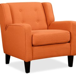 One And A Half Chair Canada Green Patio Chairs Leon S Stella Accent Orange