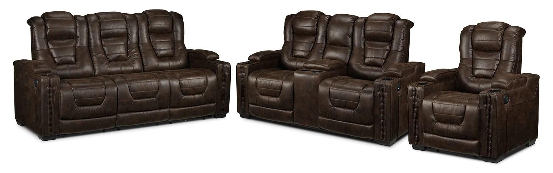living room reclining sofas interior design ideas 2017 dakota power sofa loveseat and recently viewed items